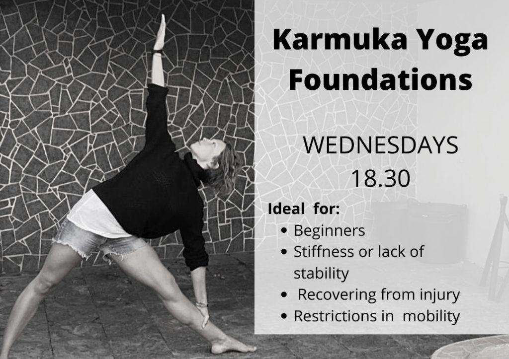YOGA FOUNDATIONS: Asana, espirales y arcos - Karmuka Yoga