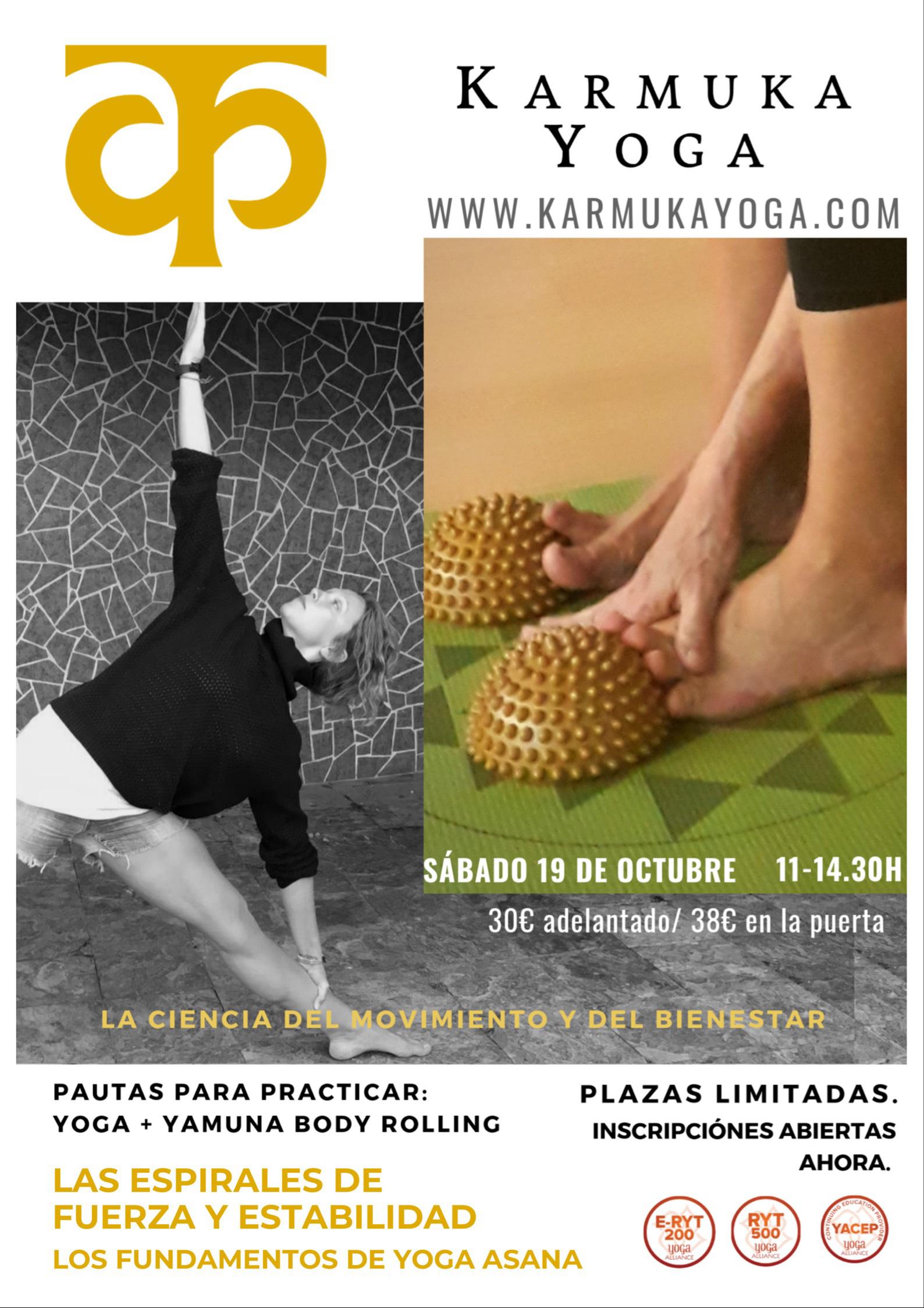 Asana - Karmuka Yoga