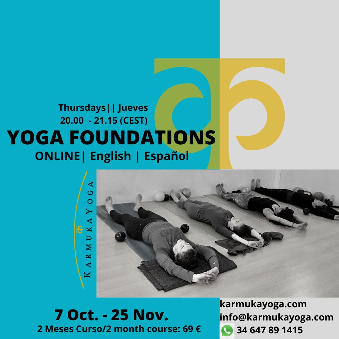 Online Clases de Yoga Online Principiantes