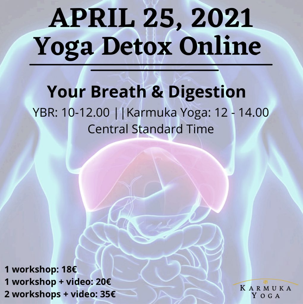 Yoga + YBR ONLINE: Your Digestion and Breath - Karmuka Yoga
