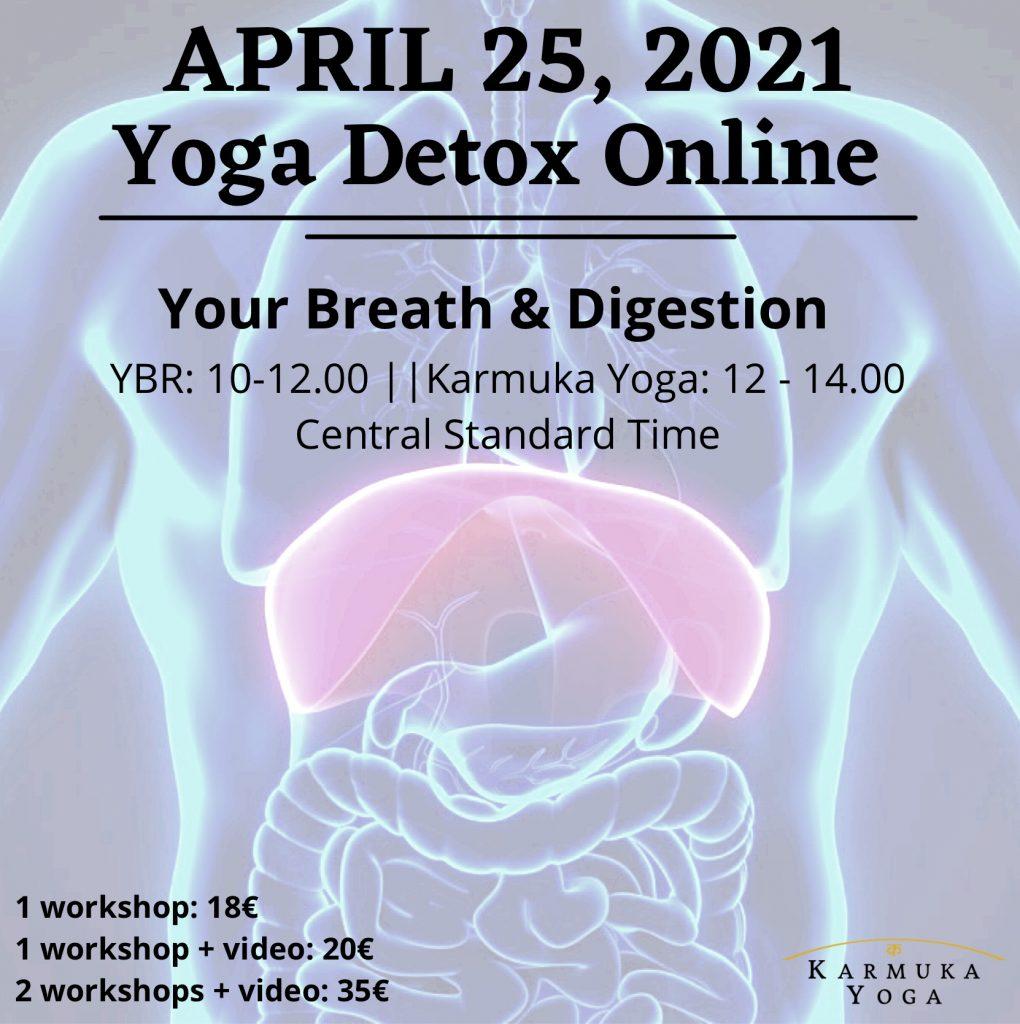 Yoga + YBR ONLINE: Your Digestion and Breath - Karmuka Yoga